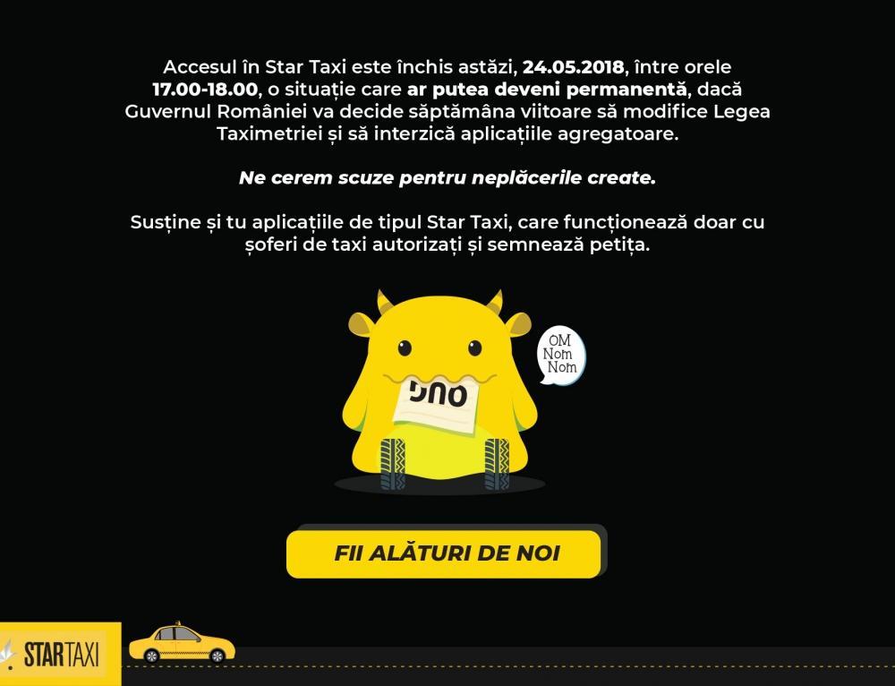 Susține și tu Star Taxi, semnează petiția pentru un transport modern și eficient